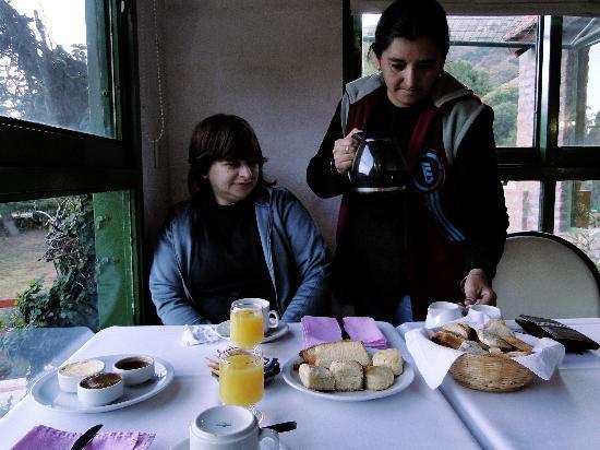 Posada del Sol : el desayuno