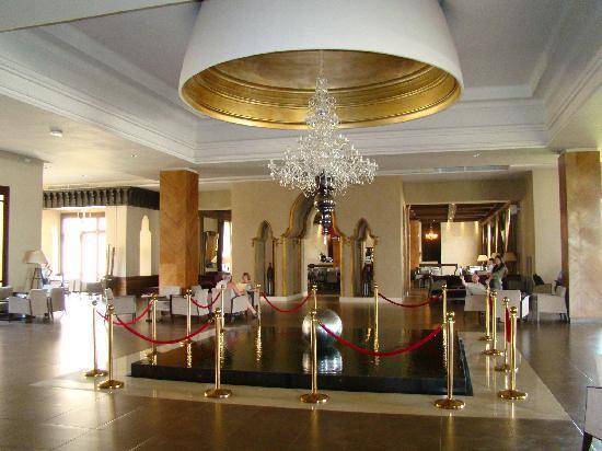 ClubHotel Riu Tikida Palmeraie: hall de  l'hôtel