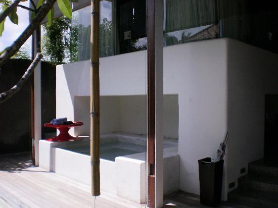 Kiss Bali: Private Jaccuzi