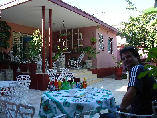 Hostal Las Americas: Garten