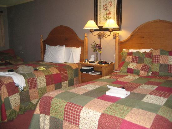 Hillwinds Inn: Cozy, comfortable room