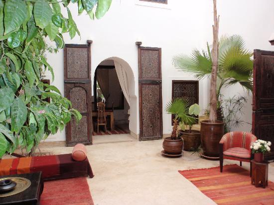 Riad Mabrouka Marrakech: courtyard