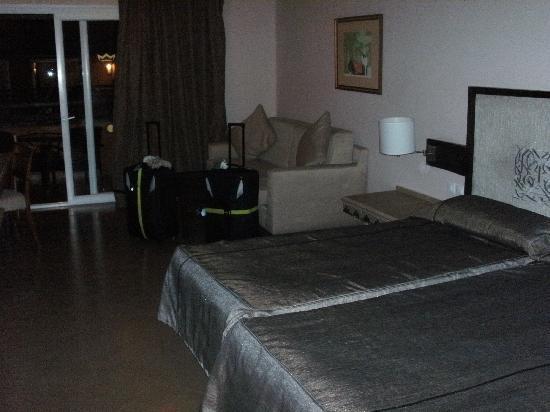 ClubHotel Riu Tikida Palmeraie: The room on arrival