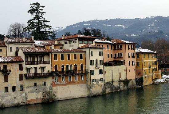 Treviso Car Service - Venice/Treviso car rental with driver: View from the Bridge in Bassano del Grappa