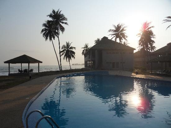 Elmina Bay Resort by night