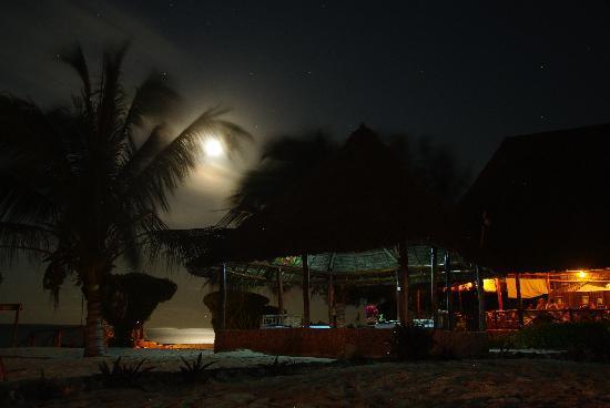 Tanzanite Beach Resort : View at the night