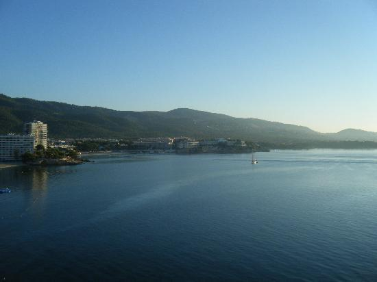 Globales Santa Lucia Hotel: View from our balacony - breaktaking!