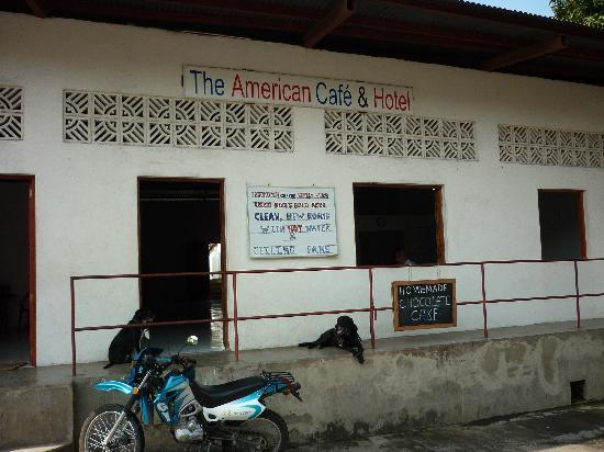The American Cafe & Hotel: American entrance