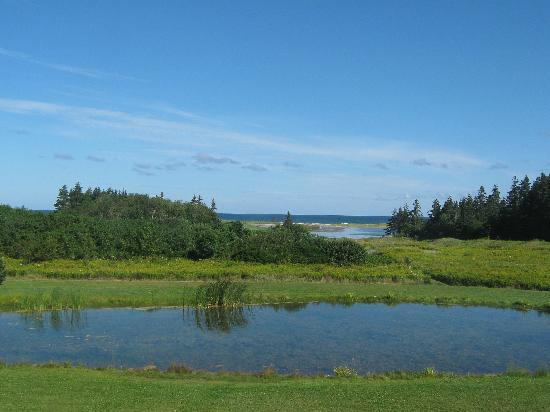 Rodd Crowbush Golf & Beach Resort: pond behind cottage