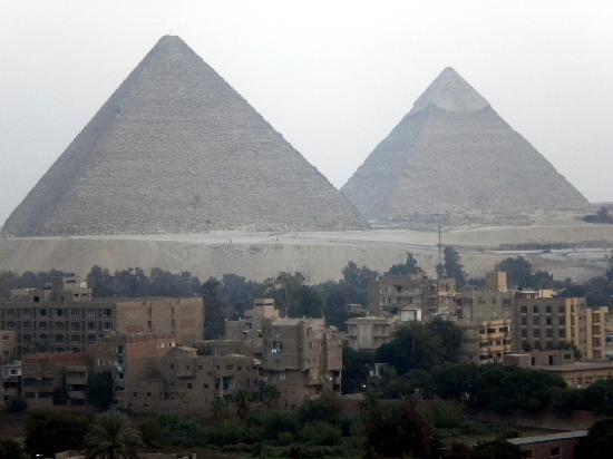 Delta Pyramids Hotel: vista dal terrazzo all'11 piano