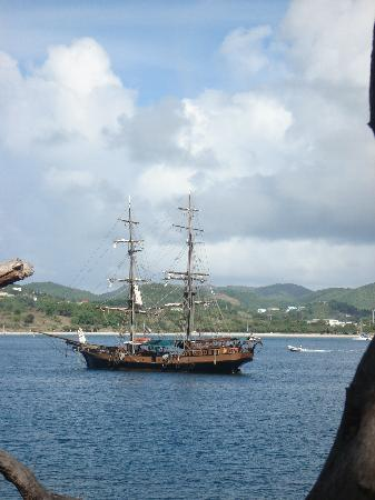 East Winds: The ship from Pirates of the Caribbean