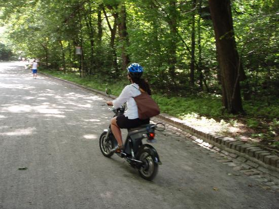 Montreal, Kanada: Biking to Mont Royal