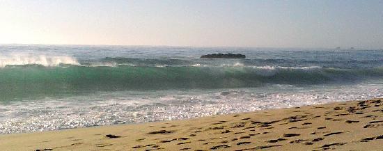 Garrapata State Park: Garrapata Beach - a sunny day and beautiful surf!