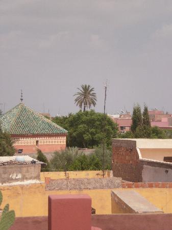Riad El Kenz : vue depuis la terrasse