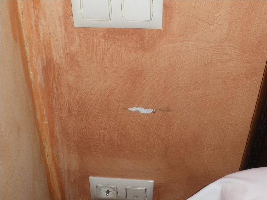 Hotel Rural Alfoz de Rondiella: pared