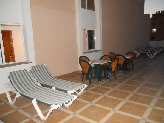HM Dunas Blancas: Terrazzo dell'Hotel
