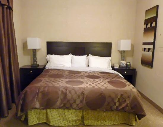 Homewood Suites by Hilton York : Studio room - king size bed