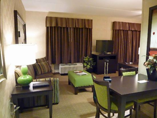 Homewood Suites by Hilton York: View from entrance to studio room