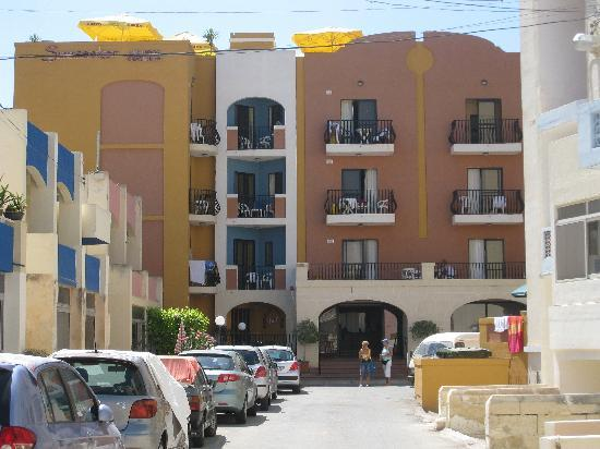 Sunseeker Holiday Complex: front of hotel