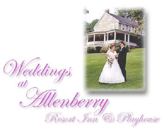 Allenberry Resort Inn and Playhouse: Weddings at Allenberry