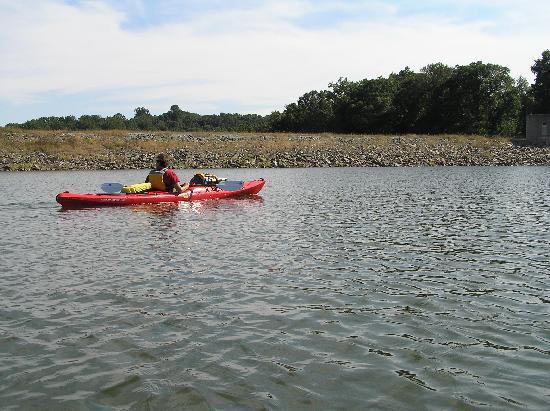 Marsh Creek State Park: at the dam