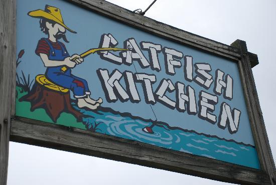 Benton, Кентукки: Entrance to Catfish Kitchen