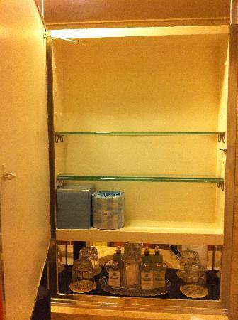 Medicine cabinet in bathroom picture of waldorf astoria for Aki kitchen cabinets astoria ny