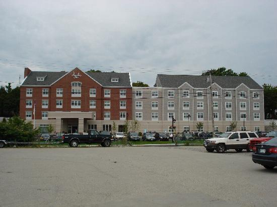 visit the maine maritime museum picture of hampton inn. Black Bedroom Furniture Sets. Home Design Ideas