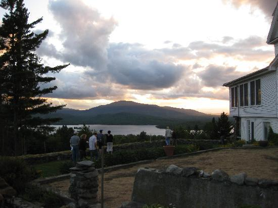 Blair Hill Inn: Guests enjoying sunset