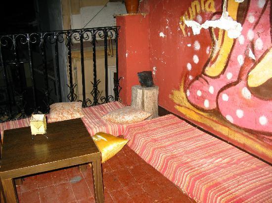 La Casa Maria: Terrasse