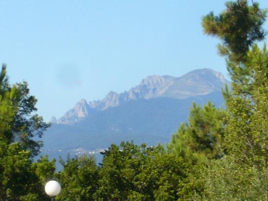 Camping Perla di Mare Village de Vacances: vue du bungalow