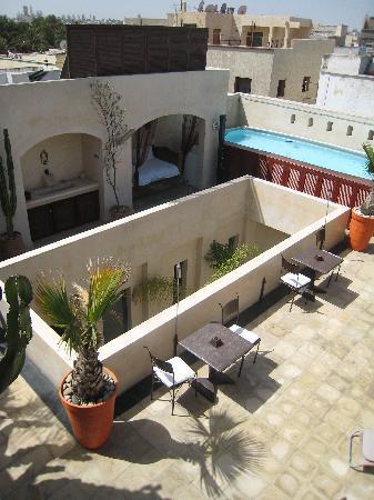 Riad La Villa & SPA : Terrazza e piscina