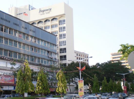 The Regency Hotel Alor Setar: 立地は最高
