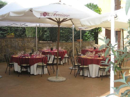 Tenuta Torciano: courtyard
