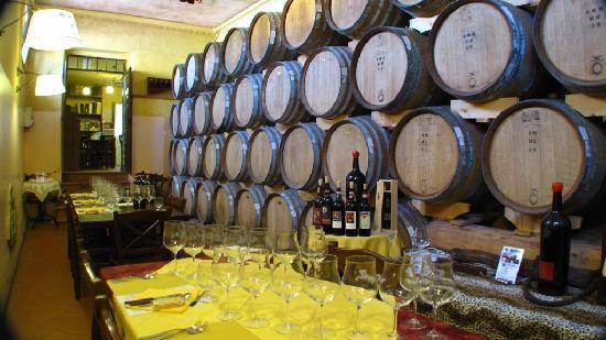 Tenuta Torciano: wine tasting
