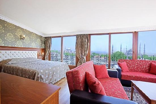 Lausos Hotel: Junior suite with bosphorus view