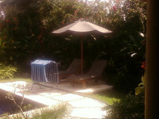The Villas Bali Hotel & Spa: Lounging