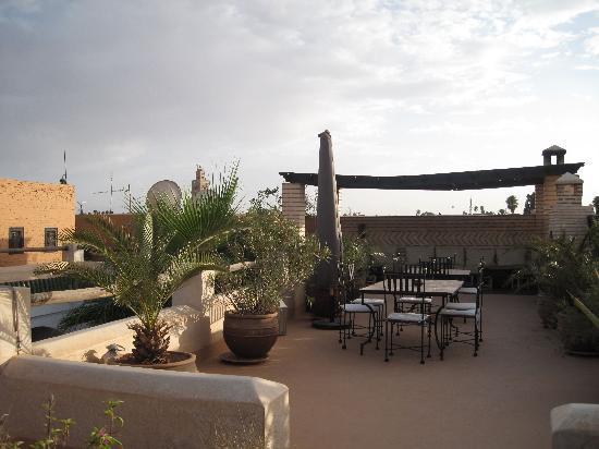 Riad l'Orangeraie: Rooftop terrace