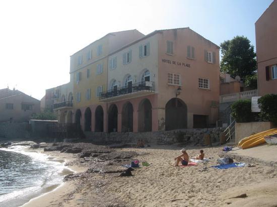 Hotel de la Plage Santa Vittoria : vista hotel