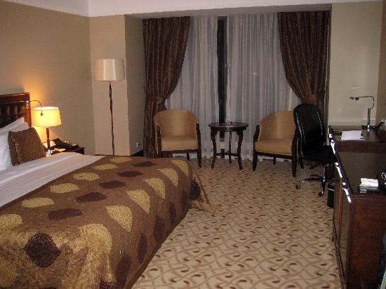 Crowne Plaza Istanbul Asia: Standard room.