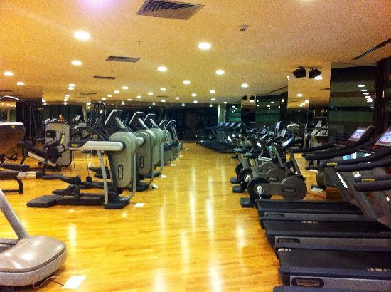 Crowne Plaza Istanbul Asia: The fitness centre - empty apart from me