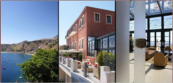 Metropole Taormina Maison d'Hotes: A panoramic sea view