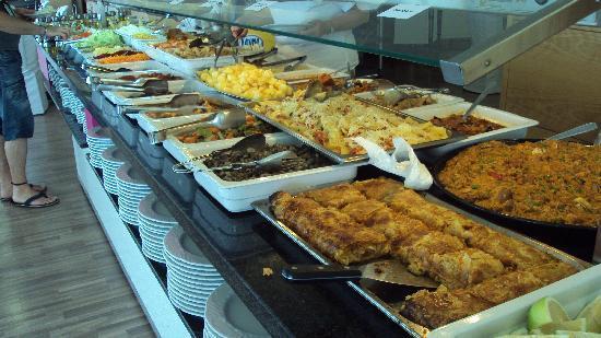 Rincon de la Victoria, Spain: buffet libre
