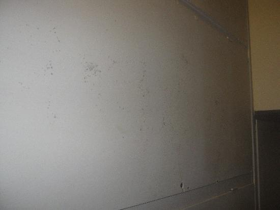Galil Hotel: Mold on the ceiling