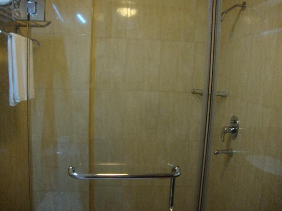 Lux Riverside Hotel & Apartments: Shower