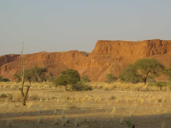 Namib Desert Lodge : Versteinerte Dünen