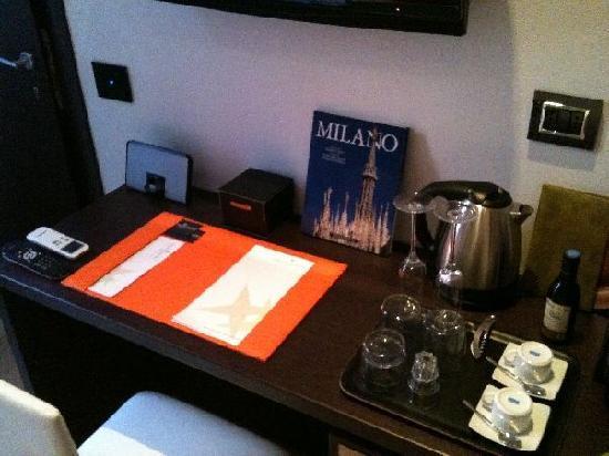 The Luxury Milano: macchinetta nespresso personale