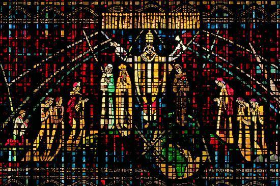 Notre Dame de Lourdes : Window 1