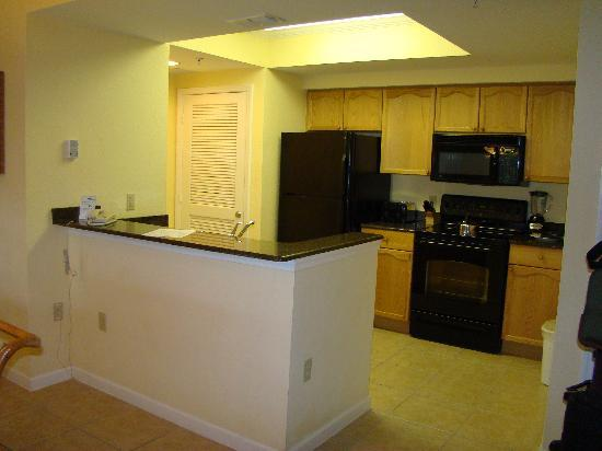 Full kitchen/stack W/D in closet - Picture of Silver Lake Resort ...