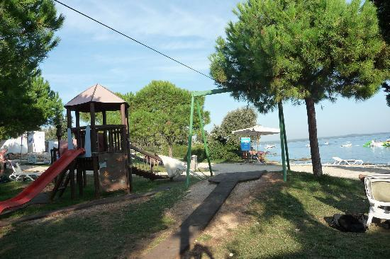 Island Hotel Istra: childrens paly area